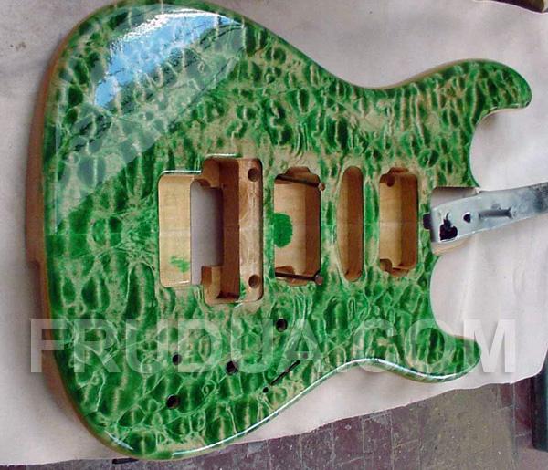 Legni per chitarra: acero