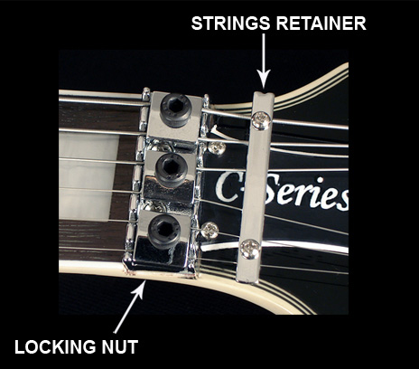 Floyd Rose locking nut image
