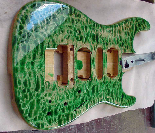 Guitar finish image